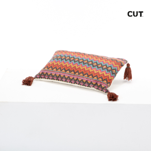 cushion colorful rectangular