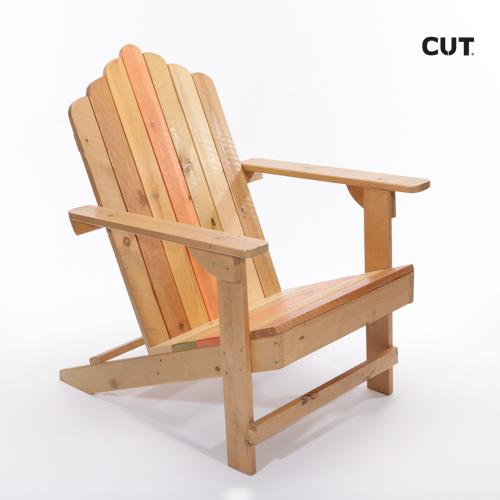 Fashion photography props chair caribean brown armchair 04