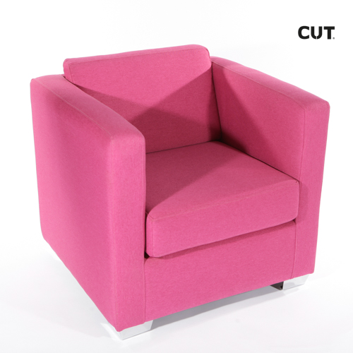 Fashion photography props chair pink design armchair 04
