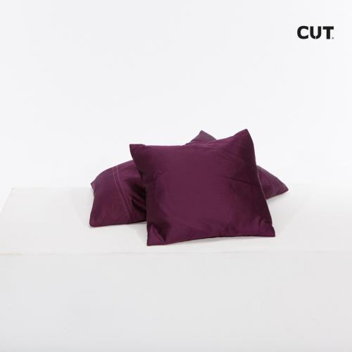cushion blue dark square