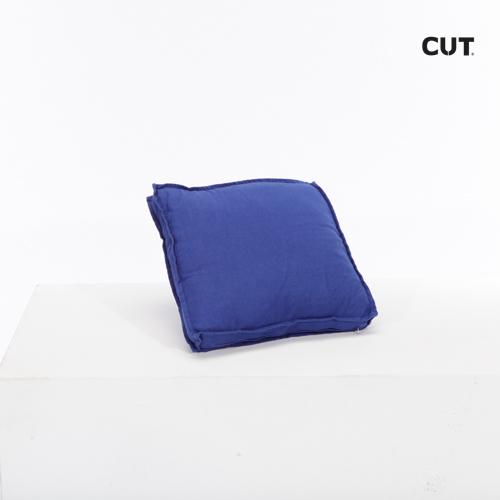 cushion blue square