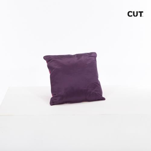 cushion purple glossy square