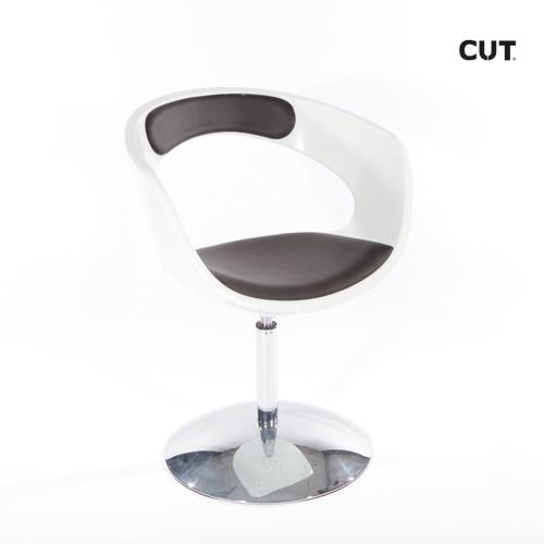 Fashion props chair black and white design 04