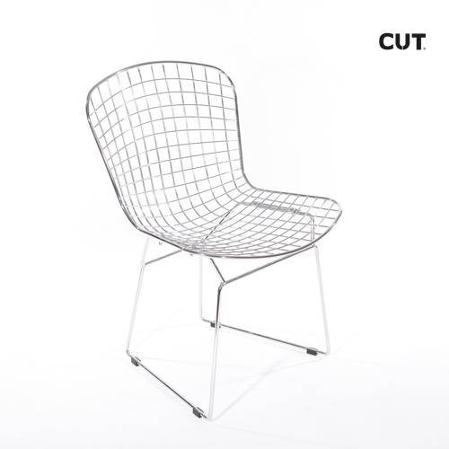 Fashion props chair silver aluminium desing 04