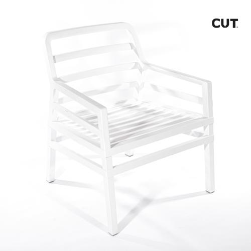 Fashion props chair white garden 04bis