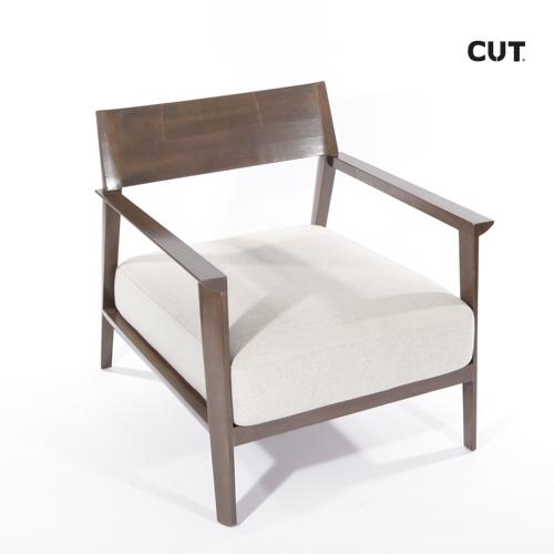 Fashion props chair wood elegant armchair 04