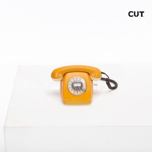 telephone classic orange