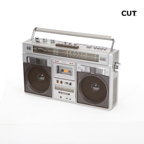 Fashion props in Mallorca complements music radio casette 80s 01