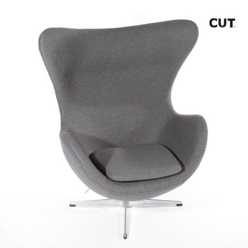 Fashion props in mallorca chair dark grey design armchair 04