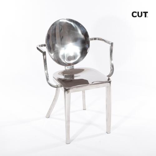 Fashion props in spain chair aluminium design 04