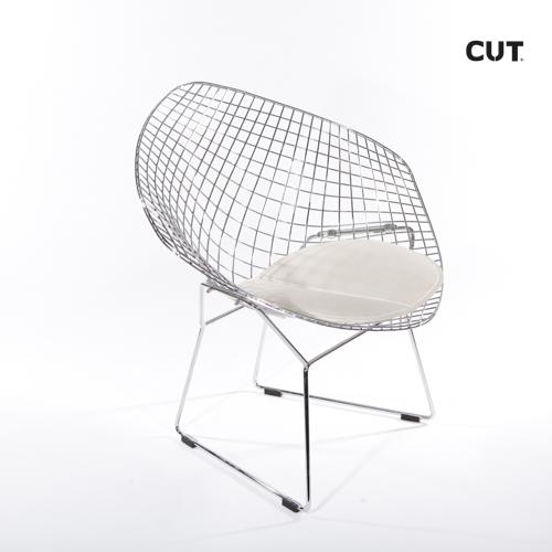 Fashion props in spain chair silver design 04