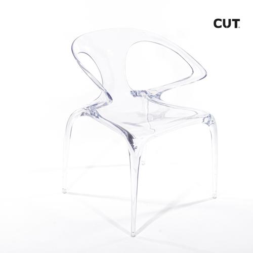 Fashion props in spain chair transparent design 04bis