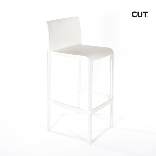 Fashion props in spain chair white bar stool 04bis