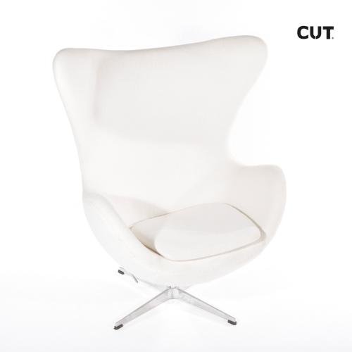 Fashion props in spain chair white design armchair 04