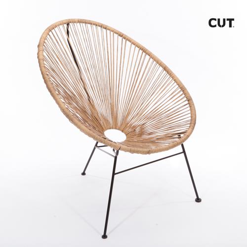 Fashion pros chair brown garden 04