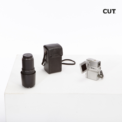 Photo session props complements camera video silver 02