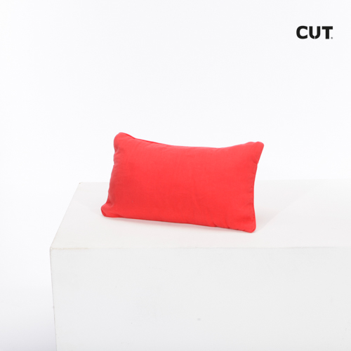 Photo session props cushion red rectangular 01