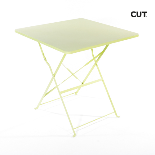 Photo session props table green garden folding 03