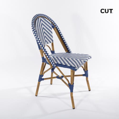 Photography props chair blue paris 04