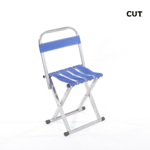Photography props chair camping blue folding 04