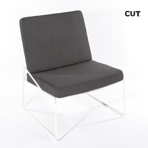 Photography props chair grey confortable 04