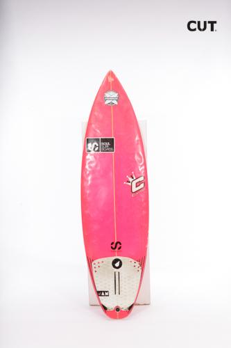 surf board pink