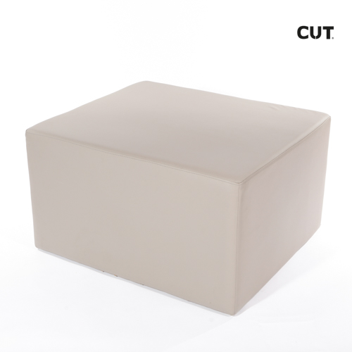Photoshoot props chair brown pale square footrest 02