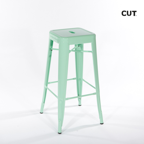 Photoshoot props chair green stool 02