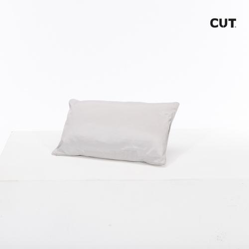 Photoshoot props cushion basic gray rectangular 01
