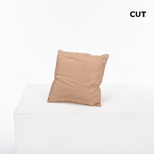 Photoshoot props cushion brown soft 01