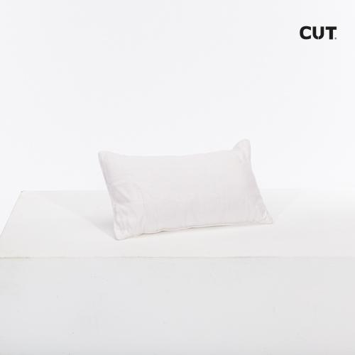 cushion white small rectangular