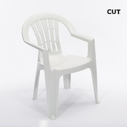 Props in Spain chair white garden 04