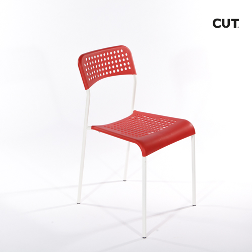 Props in spain chair red simple 04
