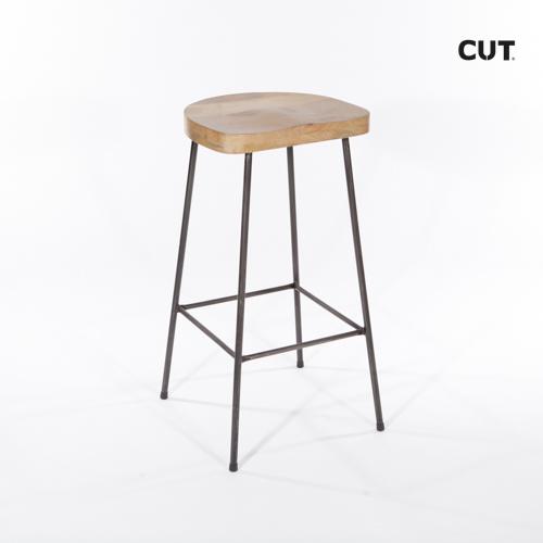 Props in spain chair wood metal stool 04